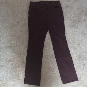 Woman's size 10 elastic waistband pants